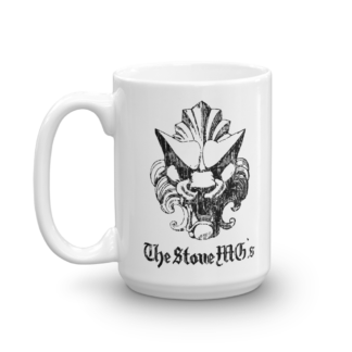 SMG Lion Glossy Mug Handle on Left 15oz